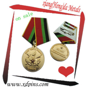 Factory Customized Logo Design Sport Souvenir Gold Silver Brass Metal pictures & photos