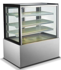 Stainless Steel Cake Showcase /Cake Display Showcase/Commercial Display Cake Refrigerator Showcase pictures & photos