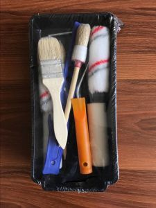 Paint Roller Brush Package Set with Tray pictures & photos