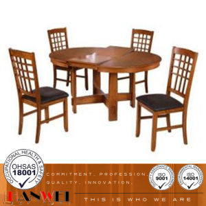 Wooden Dining Chair and Table Set pictures & photos