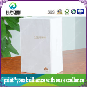 Folded Paper Printing Box for Earphone Packaging Box pictures & photos