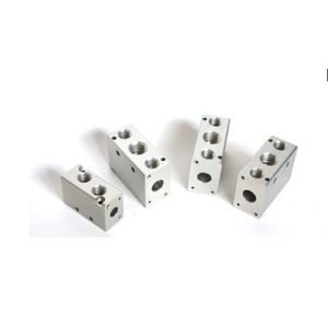 Aluminum Alloy Auto Spare Housing Parts with Holes pictures & photos
