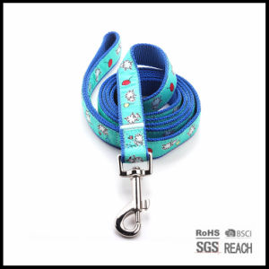 Durable Pet Dog Puppy Leashes with Woven Ribbon pictures & photos