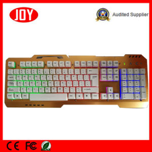 2017 New Model LED Wired Laser Gaming Keyboard pictures & photos