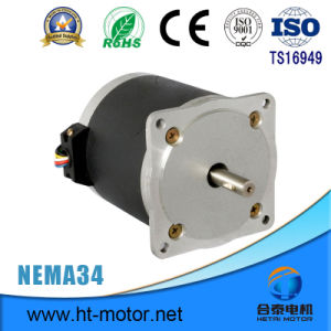 Electric Step Motor with Round Shape