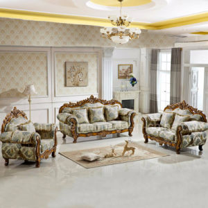 Fabric Sofa Set for Living Room Furniture (929V)