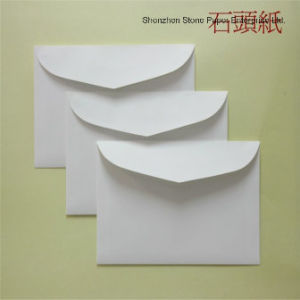 Stone Paper (RPD-120) Rich Mineral Paper Double Coated-120um pictures & photos