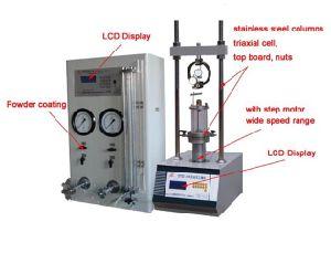 Stsz-8 80kn High Pressure Triaxial Testing Machine pictures & photos
