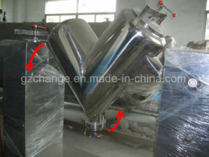 stainless Steel GMP Standard V Type Mixer pictures & photos