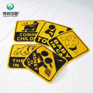 Funny Paper Printing Car Sticker / Label pictures & photos