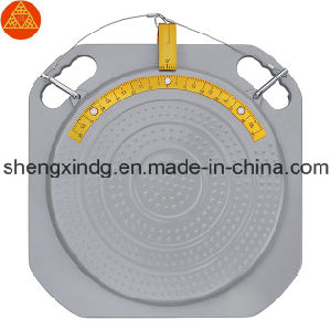 4 Four Point Wheel Alignment Wheel Aligner Rotary Rotating Mechanical 3D Turntable Turnplate Turn Table for Wheel Alignment Wheel Aligner Sx280 pictures & photos