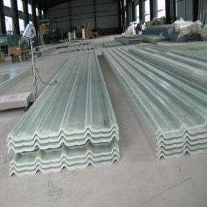 Excellent Light Transmission Fiber Reinforce Glass Roof Sheet/Clear Plastic Roof Sheet/FRP Corrugated Transparent pictures & photos