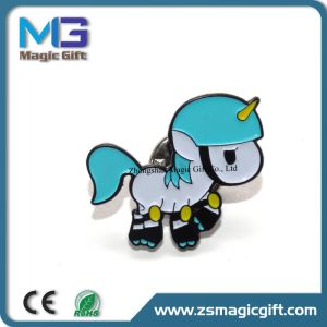 Hot Sales Cheap Cartoon Horse Soft Enamel Metal Pin pictures & photos