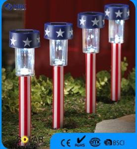 Hot Sale Flag Solar Garden LED Light pictures & photos