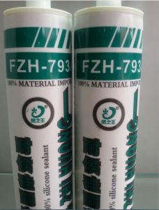 Weathering Proof Silicone Sealant with Warranty (FZH793-A) pictures & photos