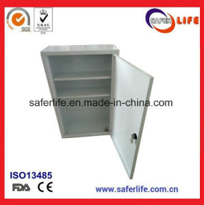 2016 Manufacture OEM Wholesale Ce FDA ISO Approved Promotional Hospital for Industrial Work Shop Huge Medical First Aid Metal Box with Lock pictures & photos
