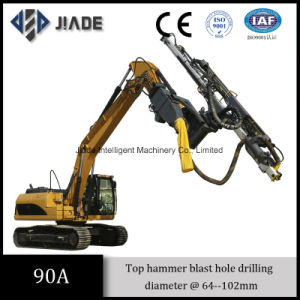 90A Top Drive Excavator Mounted Mining Drill pictures & photos