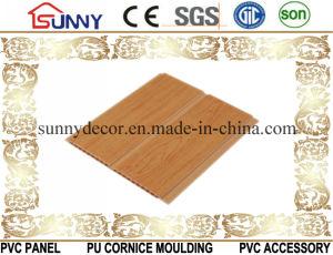 Wooden Color PVC Wall Panels, Interior Decorative PVC Tile, China Manufacturer PVC Ceilings pictures & photos