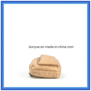 Customized New Material DuPont Paper Outdoor Sport Backpack Bag, Promotion Tyvek Paper Single Shoulder Messenger Bag with Adjustable Belt pictures & photos
