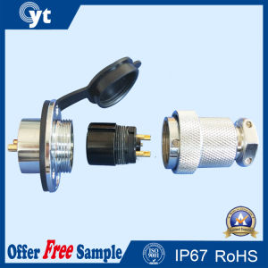 M18 2 Pin Automotive Electrical Power Connector pictures & photos