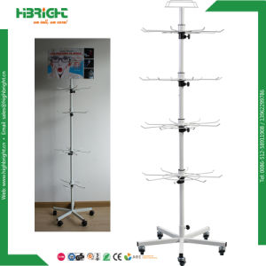Mobile Spinning DIY Floor Display Rack pictures & photos