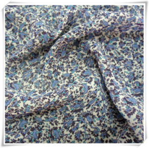 100% Polyester Printed Chiffon Fabric Textile and Woven Fabric for Garment pictures & photos