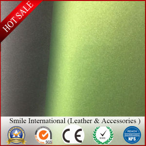 Synthetic Leather for Hangbags New Design Very Softness PVC Leather Double Brush Backing 1.2mm pictures & photos