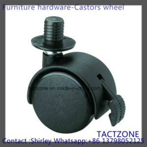 PRO Wholesale Nylon Short Plunger Heavy Duty Swiver Caster with Brake pictures & photos