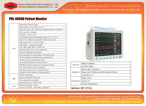 Ce/ISO Approval Multi Parameter Patient Monitor Pdj-3000b pictures & photos