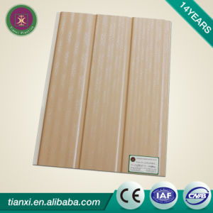Laminated Surface Treatment PVC Ceiling Tiles with Two Grooves pictures & photos