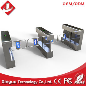 Stainless Steel Automatic Swing Barrier Gate pictures & photos