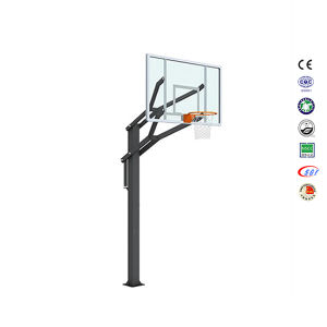Height Adjustable Inground Basketball Pole Inground Basketball Stand pictures & photos