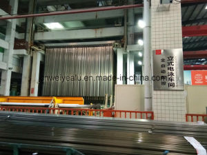 Eletrophoresis Surface Aluminium Door Extrusion Profile with Ce Certification pictures & photos