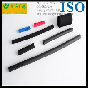 OEM Colored Silicone Rubber Foam Sponge Tube pictures & photos