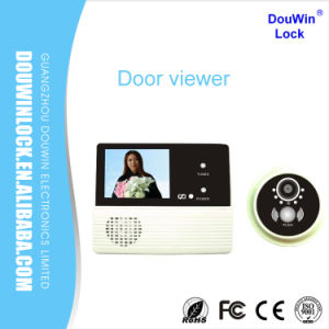 Douwin Digital Door Bell Entry Scope Viewer Pinhole Camera pictures & photos
