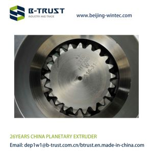 Ht Planetary Roller Extruder for PVC Clendering Line pictures & photos