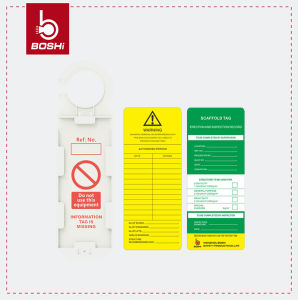 Boshi Plastic Material High Quality Scaffolding Tagout Bd-P35 pictures & photos