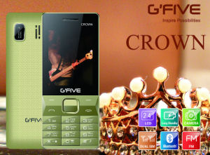 Gfive Crown Feature Phone with FCC, Ce, 3c