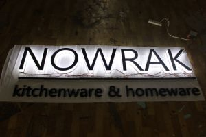 Sides Edge Lit LED Display Advertising Channel Letter Sign pictures & photos
