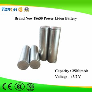 2500mAh High Quality Authentic 3.7V Rechargeable 18650 Battery pictures & photos
