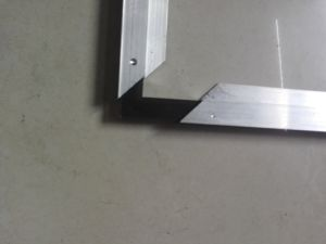 Aluminium Frame with 45 Degree Bracket pictures & photos