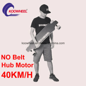 Dual Hub Motor 4 Wheels Electric Skateboard with Remote Control pictures & photos