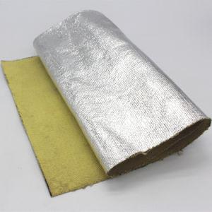 Aluminum Foil Coated Kevlar 14 Oz Aluminized Aramid Cloth pictures & photos