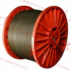 Shaped Strands Wire Ropes - 4vx48s+5FC pictures & photos
