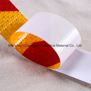 High Visibility Honeycomb Hazard Warning Reflective Material Barricade Tape (C3500-S) pictures & photos