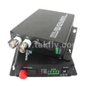 Video to Fiber Converter 8 Channels Fiber Optic Video Converter pictures & photos