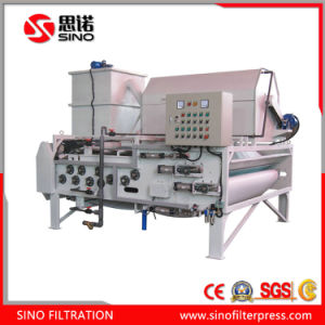 Sludge Dewatering Stainless Steel Material Belt Type Filter Press pictures & photos