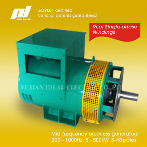 200Hz~1000Hz Single-Phase Brushless Generators (Alternators) pictures & photos