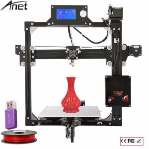 Anet A2 Big Build Volume Industrial 3D Metal Color Printer with Heated Bed pictures & photos