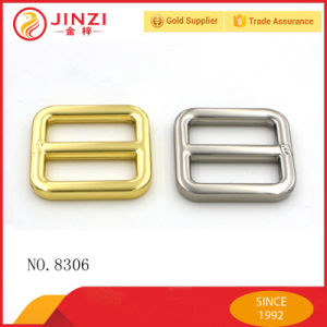 Metal Adjuster Belt Buckle Tri-Glide Ring Slide Buckle pictures & photos